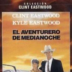 Cine: EL AVENTURERO DE MEDIANOCHE DIRECTOR: CLINT EASTWOOD ACTORES: CLINT EASTWOOD, KYLE EASTWOOD. Lote 190764440