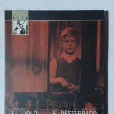 Cine: EL IDOLO CAIDO- EL DESTERRADO DE LAS ISLAS- CAROL REED- FILMOTECA FNAC 87- DVD. Lote 190765855