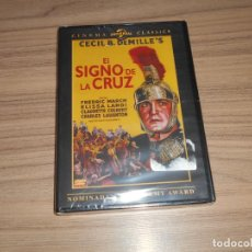 Cine: EL SIGNO DE LA CRUZ DVD DE CECIL B. DEMILLE FREDERIC MARCH CLAUDETTE COLBERT NUEVA PRECINTADA. Lote 255922845