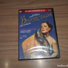 Cinema: LA DIVORCIADA DVD NORMA SHEARER NUEVA PRECINTADA. Lote 262690175
