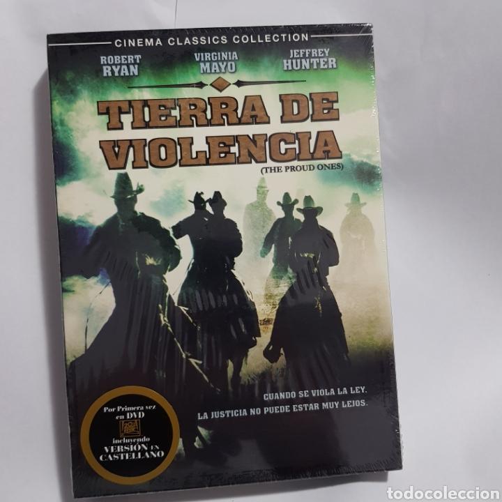 (PR53) TIERRA DE VIOLENCIA - DVD NUEVO PRECINTADO (Cine - Películas - DVD)