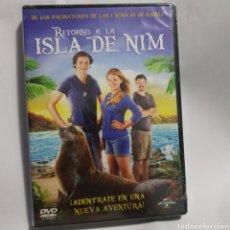 Cine: (PR53) RETORNO A LA ISLA DE NIM - DVD NUEVO PRECINTADO. Lote 190875162