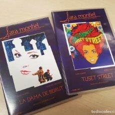 Cine: SARA MONTIEL - LA DAMA DE BEIRUT - TUSET STREET - 2 DVD ORIGINALES Y COMO NUEVOS. Lote 190911943