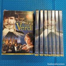 Cine: LA VIDA DE VERDI 7 DVD. Lote 191057703