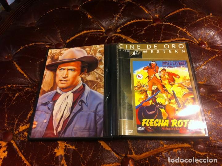 PELÍCULA DVD. FLECHA ROTA. . JAMES STEWART (Cine - Películas - DVD)