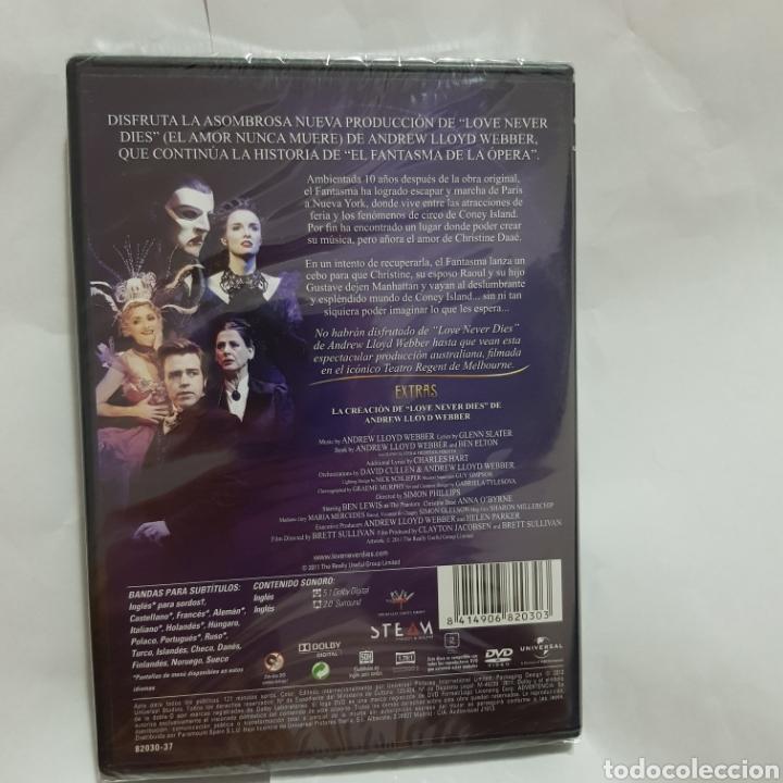Cine: (PR57) love never dies el amor nunca muere - DVD NUEVO PRECINTADO - Foto 2 - 191121227