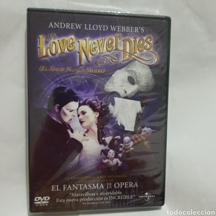 (PR57) LOVE NEVER DIES EL AMOR NUNCA MUERE - DVD NUEVO PRECINTADO (Cine - Películas - DVD)