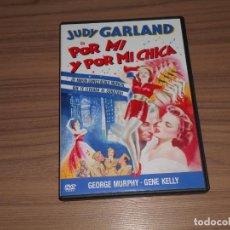 Cine: POR MI Y POR MI CHICA DVD JUDY GARLAND GENE KELLY GEORGE MURPHY WARNER COMO NUEVA. Lote 191165765