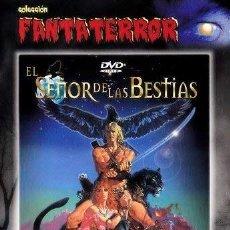 Cine: EL SEÑOR DE LAS BESTIAS - NUEVA PRECINTADA *** EDIC. ESPAÑOLA *** DESCATALOGADA. Lote 191166958