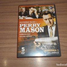 Cine: PERRY MASON TEMPORADA 1 VOLUMEN 2 5 DVD COMO NUEVA . Lote 191167720