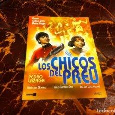 Cine: PELÍCULA. DVD. LOS CHICOS DEL PREU. KARINA. CAMILO SESTO (CARPETA DE CARTÓN). Lote 191190102