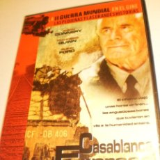 Cine: DVD CASABLANCA EXPRESS. JASON CONNERY. FRANCESCO QUINN. GLEN FORD 84 MIN CAJA FINA (BUEN ESTADO). Lote 191206230