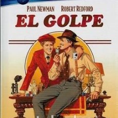 Cine: EL GOLPE (DVD + LIBRO 36 PÁG.) DIRECTOR: GEORGE ROY HILL ACTORES: PAUL NEWMAN, ROBERT REDFORD. Lote 191208198
