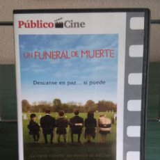 Cine: UN FUNERAL DE MUERTE EN DVD // PROMOCIÓN EN LOS ENVÍOS. LEER DESCRIPCIÓN. Lote 191213943