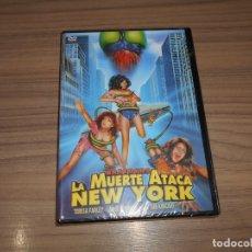 Cine: LA MUERTE ATACA NEW YORK DVD TERROR NUEVA PRECINTADA. Lote 191332576