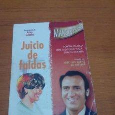Cine: JUICIO DE FALDAS. MANOLO ESCOBAR. CONCHA VELASCO. GRACITA MORALES. J. SAZATORNIL. B25DVD. Lote 191332767