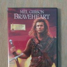 Cine: DVD BRAVEHEART // ENVIO CERTIFICADO INCLUIDO. Lote 191563680