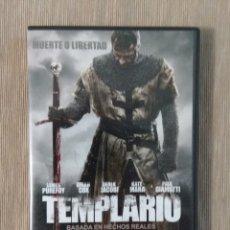 Cine: DVD TEMPLARIO. // ENVIO CERTIFICADO INCLUIDO. Lote 191570178