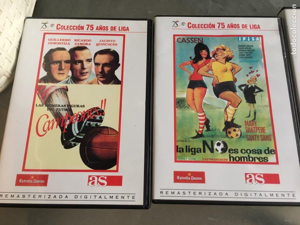 Cine: 8 DVD Películas del fútbol -75 años de liga (completa) - Foto 3 - 191588971