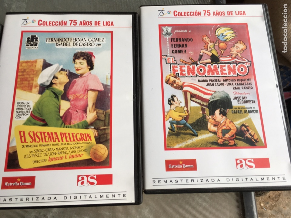 Cine: 8 DVD Películas del fútbol -75 años de liga (completa) - Foto 4 - 191588971