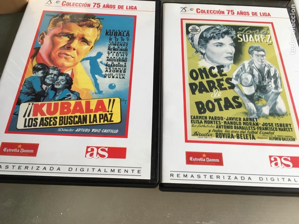 Cine: 8 DVD Películas del fútbol -75 años de liga (completa) - Foto 5 - 191588971