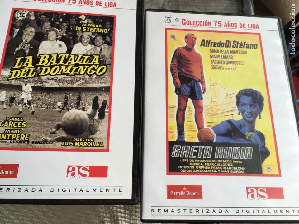 Cine: 8 DVD Películas del fútbol -75 años de liga (completa) - Foto 6 - 191588971