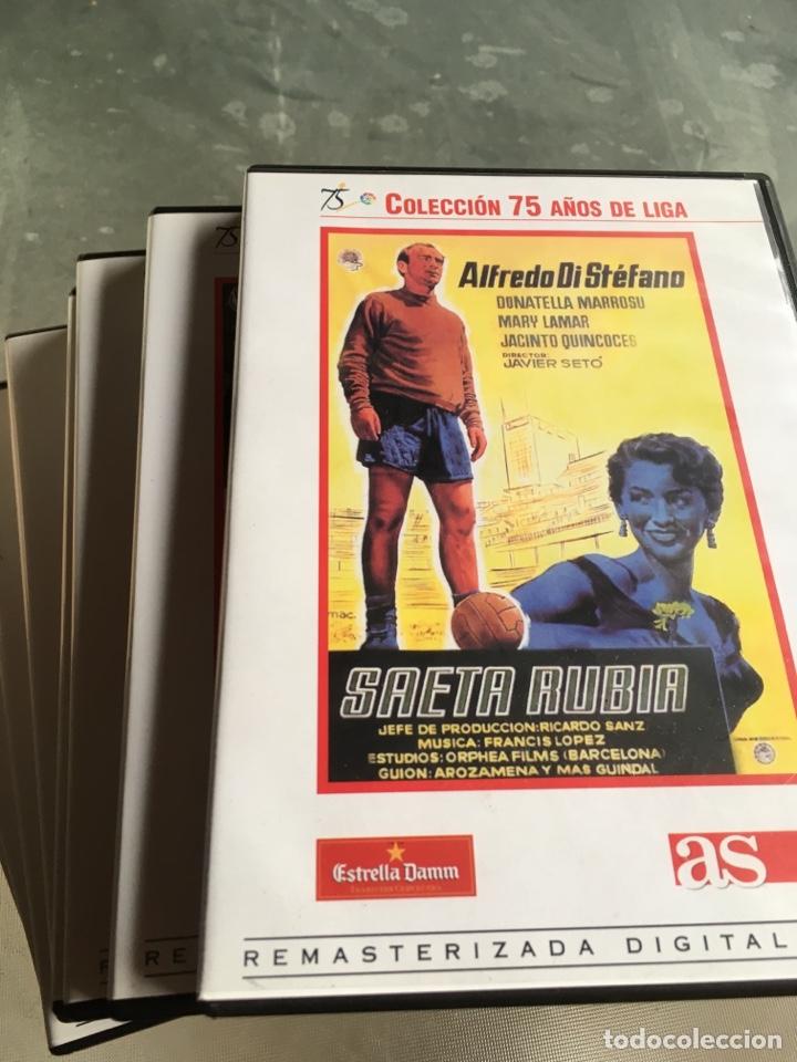 8 DVD PELÍCULAS DEL FÚTBOL -75 AÑOS DE LIGA (COMPLETA) (Cine - Películas - DVD)