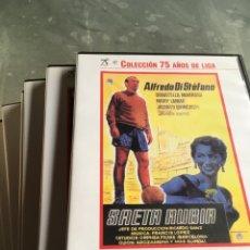 Cine: 8 DVD PELÍCULAS DEL FÚTBOL -75 AÑOS DE LIGA (COMPLETA). Lote 191588971