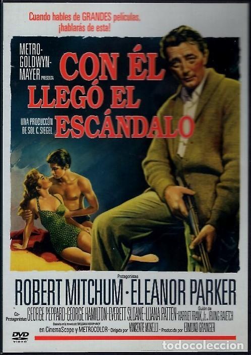 CON ÉL LLEGO EL ESCANDALO DVD (R. MITCHUM+ E.PARKER) UNA DE LAS MEJORES INTERPRETACIONES DE MITCHUM (Cine - Películas - DVD)