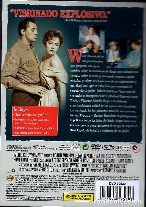 Cine: CON ÉL LLEGO EL ESCANDALO DVD (R. MITCHUM+ E.PARKER) UNA DE LAS MEJORES INTERPRETACIONES DE MITCHUM - Foto 2 - 206840587