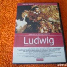 Cine: LUDWIG / LUCHINO VISCONTI EDICION 2 DISCOS. Lote 191654926