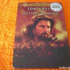Cine: EL ULTIMO SAMURAY / TOM CRUISE / LIMITED EDITION CAJA METALICA. Lote 191656045