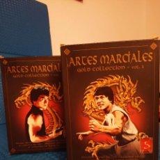 Cine: 10 PELÍCULAS DE ARTES MARCIALES - GOLD COLLECTION VOL. 1 Y VOL. 4. Lote 191669935