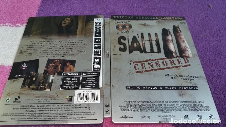 SAW II EDICIÓN ESPECIAL LIMITADA 2 DVD CAJA METÁLICA (Cine - Películas - DVD)