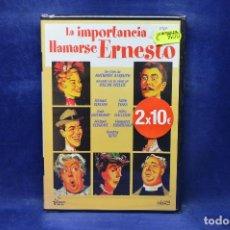 Cinema: LA IMPORTANCIA DE LLAMARSE ERNESTO - DVD . Lote 191775208