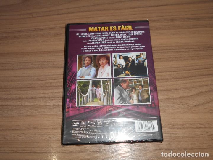 Cine: MATAR ES FACIL DVD Olivia De Havilland NUEVA PRECINTADA - Foto 2 - 217806786