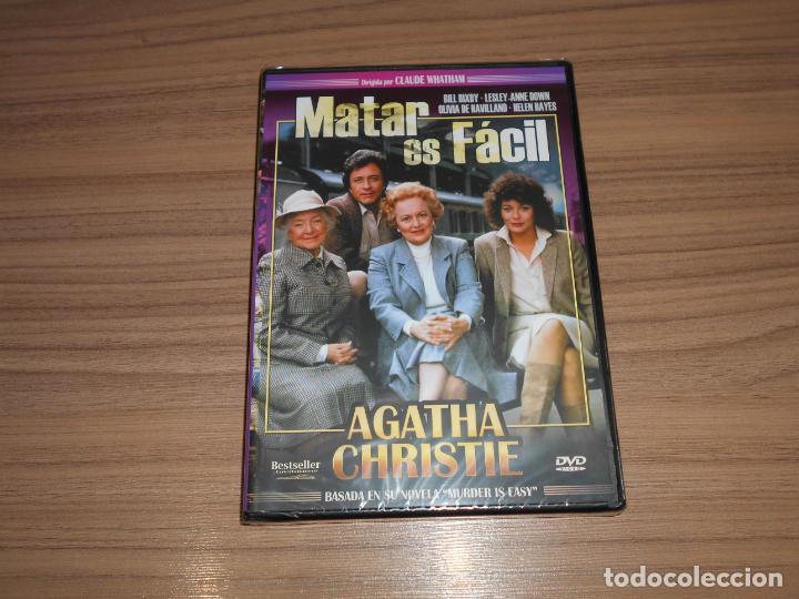 MATAR ES FACIL DVD OLIVIA DE HAVILLAND NUEVA PRECINTADA (Cine - Películas - DVD)