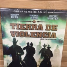 Cine: TIERRA DE VIOLENCIA DVD - PRECINTADO -. Lote 191826798
