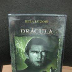 Cine: DRACULA. BELA LUGOSI. DVD CON MATERIAL ADICIONAL PRECINTADO.TERROR.. Lote 191955807