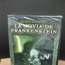 Cine: LA NOVIA DE FRANKENSTEIN. BORIS CARLOF. DVD CON MATERIAL ADICIONAL. PRECINTADO.TERROR.. Lote 191955983