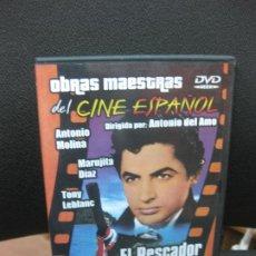 Cine: EL PESCADOR DE COPLAS. ANTONIO MOLINA. MARUJITA DIAZ. DVD OBRAS MAESTRAS DEL CINE ESPAÑOL.. Lote 191972507