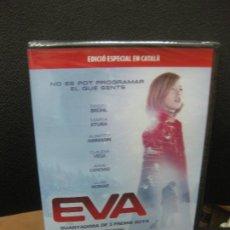 Cine: EVA. DVD EDICIO ESPECIAL EN CATALÀ. GUANYADORA DE 3 PREMIS GOYA. PRECINTADA.. Lote 191972717