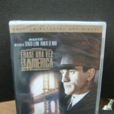 Cine: ERASE UNA VEZ AMERICA. ROBERT DE NIRO. EDICION ESPECIAL 2 DVD.CARACTERISTICAS ESPECIALES. PRECINTADO. Lote 191973177