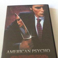 Cine: DVD AMERICAN PSYCHO (SOBRE NOVELA DE BRET EASTON WILLIS ) CON CHRISTIAN BALE JARED LETO. Lote 192013753