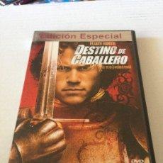 Cine: DVD DESTINO DE CABALLERO EDICION ESPECIAL CON HEATH LEDGER RUFUS SEWELL PAUL BETTANY. Lote 192013822
