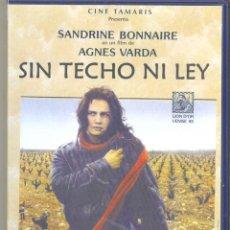 Cine: SIN TECHO NI LEY DVD (AGNES VARDA) ... UNA CHICA PROBLEMÁTICA PERO INDEPENDIENTE AL CIEN POR CIEN. Lote 192014115