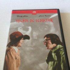 Cine: DVD SUEÑOS DE UN SEDUCTOR, DE WOODY ALLEN CON DIANE KEATON. Lote 192014138