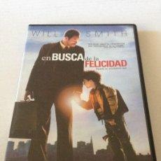 Cine: DVD EN BUSCA DE LA FELICIDAD CON WILL SMITH. Lote 192014190