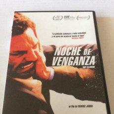 Cine: DVD NOCHE DE VENGANZA DIRECTOR: FREDERIC JARDIN ACTORES: TOMER SISLEY, SERGE RIABOUKINE. Lote 192014312