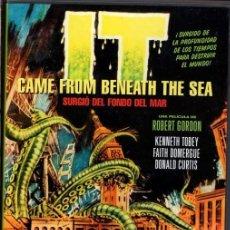 Cine: IT CAME FROM BENEATH THE SEA DVD - VIVIAN FELICES CUANDO APARECE UNA CRIATURA QUE NO ESTABA INVITADA. Lote 192014383